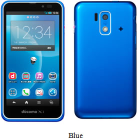 blue kids phone